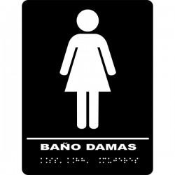 Signo táctil mujer
