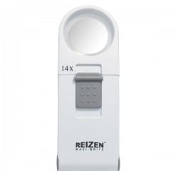 Lupa de mano Reizen Maxi-Brite LED - 14X